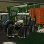 Das große Mais gehacke