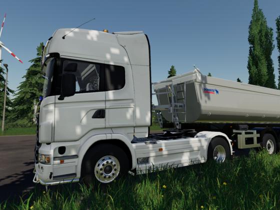 Heute mit dem Scania unterwegs