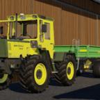 MB Trac 1100 mit Strautmann Kipper