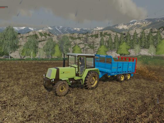 Landarbeit Mist