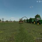 Gras häckseln in Mecklenburg