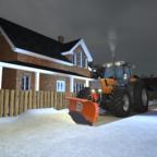Schneeschieben mit dem Agrostar 6.61