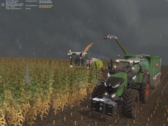 der Mais muss runder aber schnel