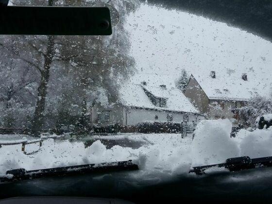 Schnee am 17.04.17