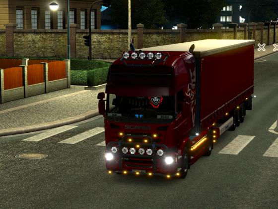 """Das ist meine neuer """"Roter"""" Scania R730 V8"""