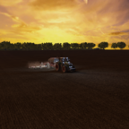 Raps Drillen auf der World of Farming Map