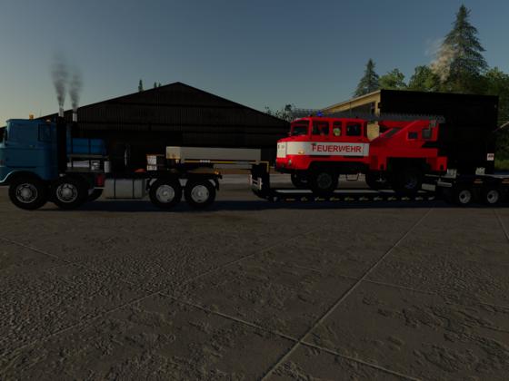 Feuerwehr zur Werkstatt