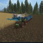 Etwas dreschen mit älteren Maschinen