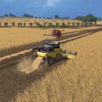 start der Getreideernte