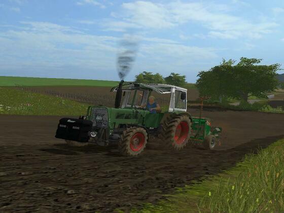 Fendt Farmer 108 SA und Deutz agrostar DX 6.11 im einsatz