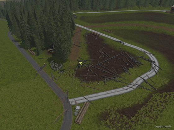 Extrem Forst auf der Bindelbach