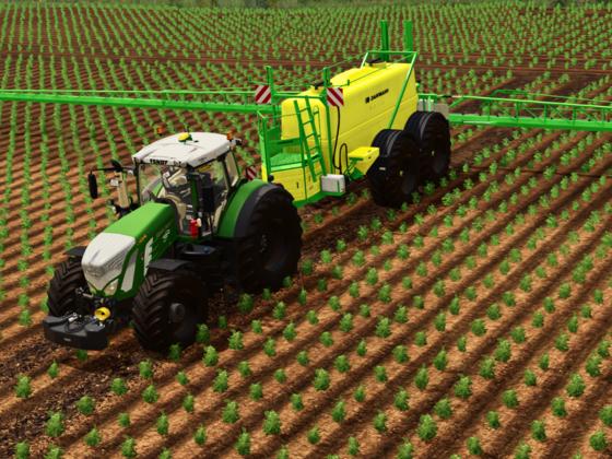 Pflanzenschutz in Kartoffeln