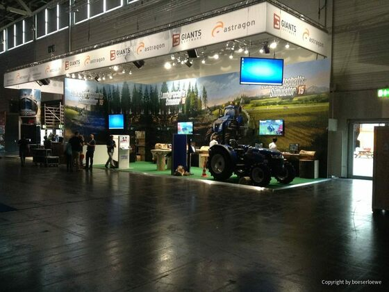 GamesCom 2014 MEssestand Giants
