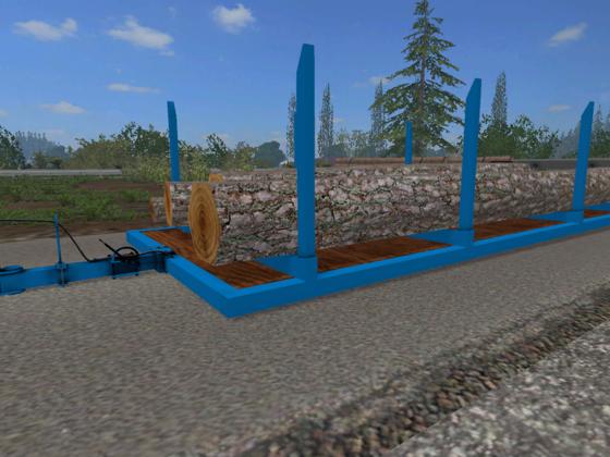 Forst-Plattenanhänger