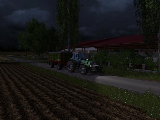 Weizen wegbringen zum Lager mit Courseplay Unterstüzung
