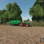 Fendt Vario 1050 am Mais fahren