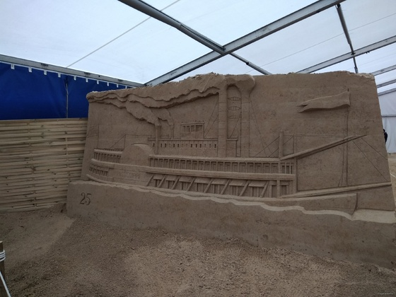 Sandskulpturen-Festival im Ostseebad Binz, Teil3