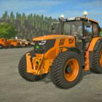 John Deere 6125M Orange - Limited edition for Magyar Közút NZRt.
