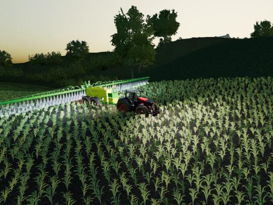 Flüssigdüngerausbringung Maisland