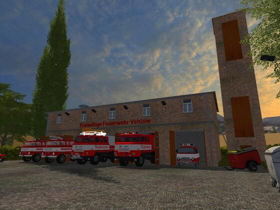 Feuerwehr in Vehlow