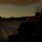 IHC 956 XL im Sonnenaufgang