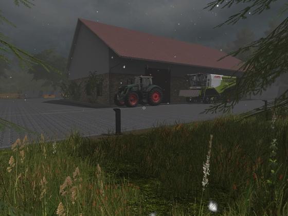 Ideales Wetter zum Maschinen pflegen und mal die Werkstatt aufzuräumen :-)