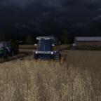Weizen ernten mit Courseplay Unterstützung
