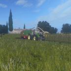 Fendt Vario 1038 mit Hawe am Mais fahren