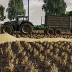 Weizen Transport