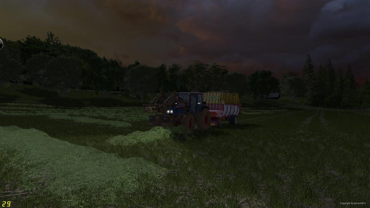 Gras sammeln