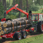 Eine Fuhre Holz Holen mit dem 514er Fendt