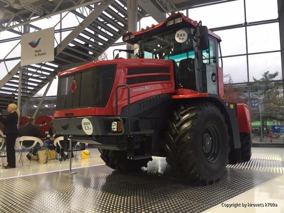 Kirovets K424 240 ps auf der Agritechnica 2017