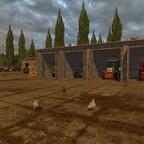 Traktoren in Vehlow
