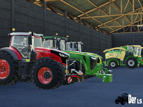 Traktorgarage