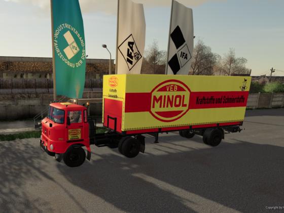 Ausstellung IFA Anhängerbau - Der Logistikpartner!