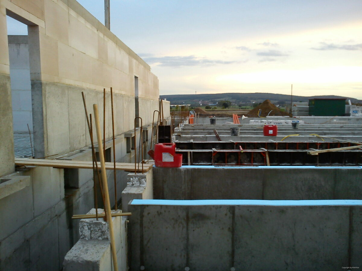 Maststall Bau im Jahr 2013 (Schweinemast)-2