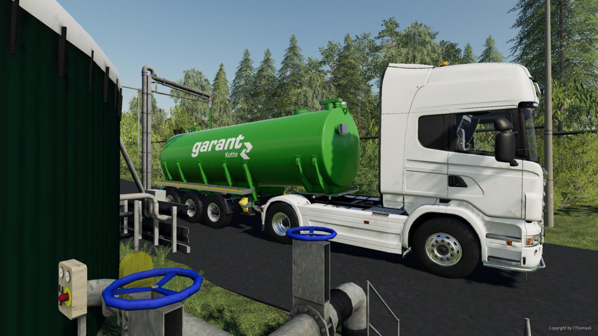 Neulich, auf der Biogasanlage