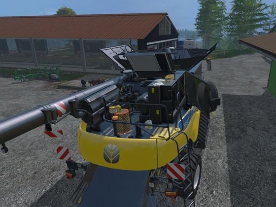 Der erste Service und Umrüstung auf Weizen steht an ....