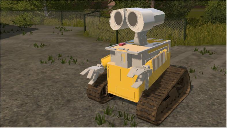 walle fahren (roboter aus einem film)