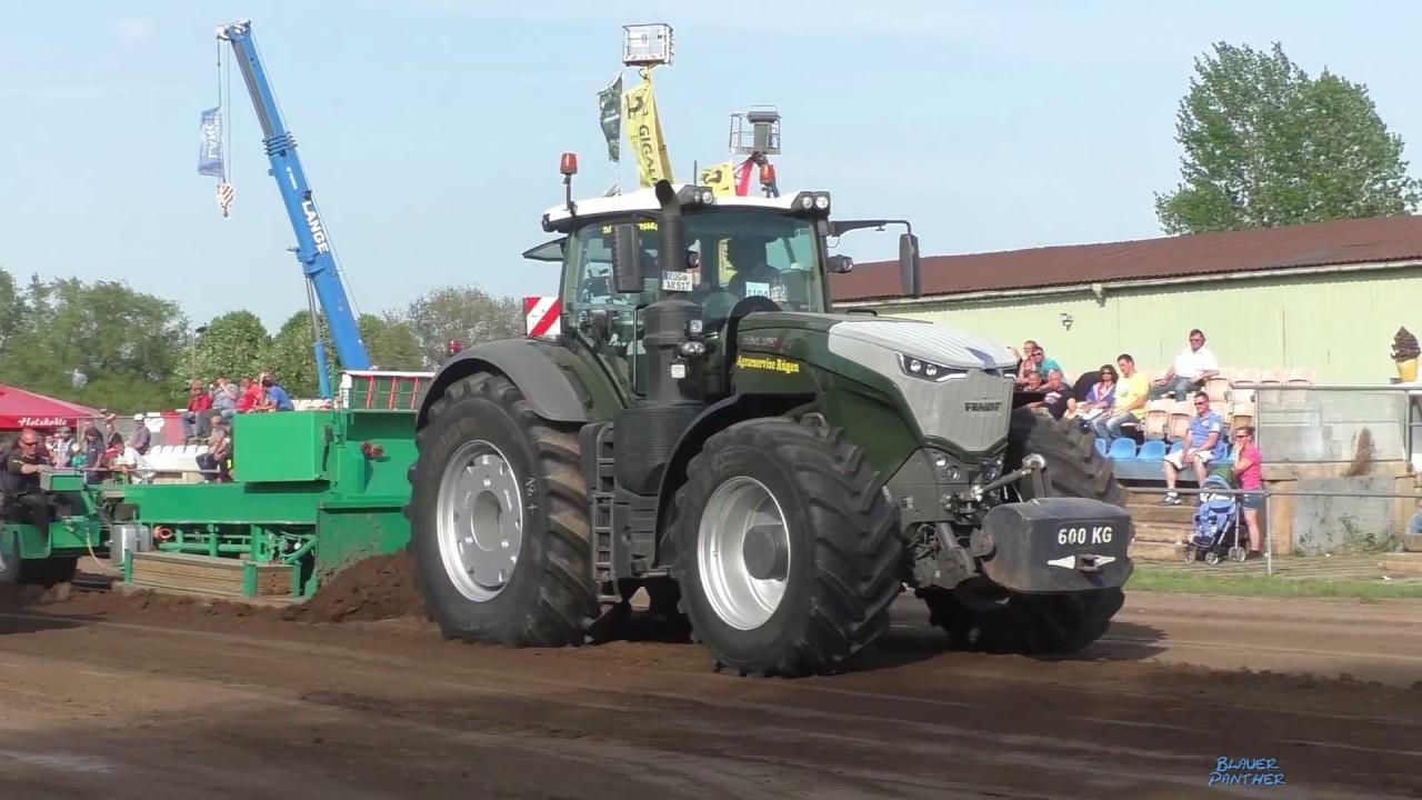 Trecker Treck Grimmen 2018 - 18t Königsklasse | Tractor Pulling bei 2.35 kommt Jonas mit sein K701 mit knapp 1000Ps