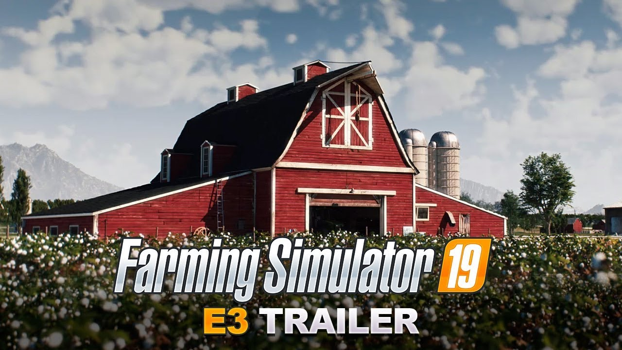 Farming Simulator 19 E3 CGI Trailer - John Deere Reveal