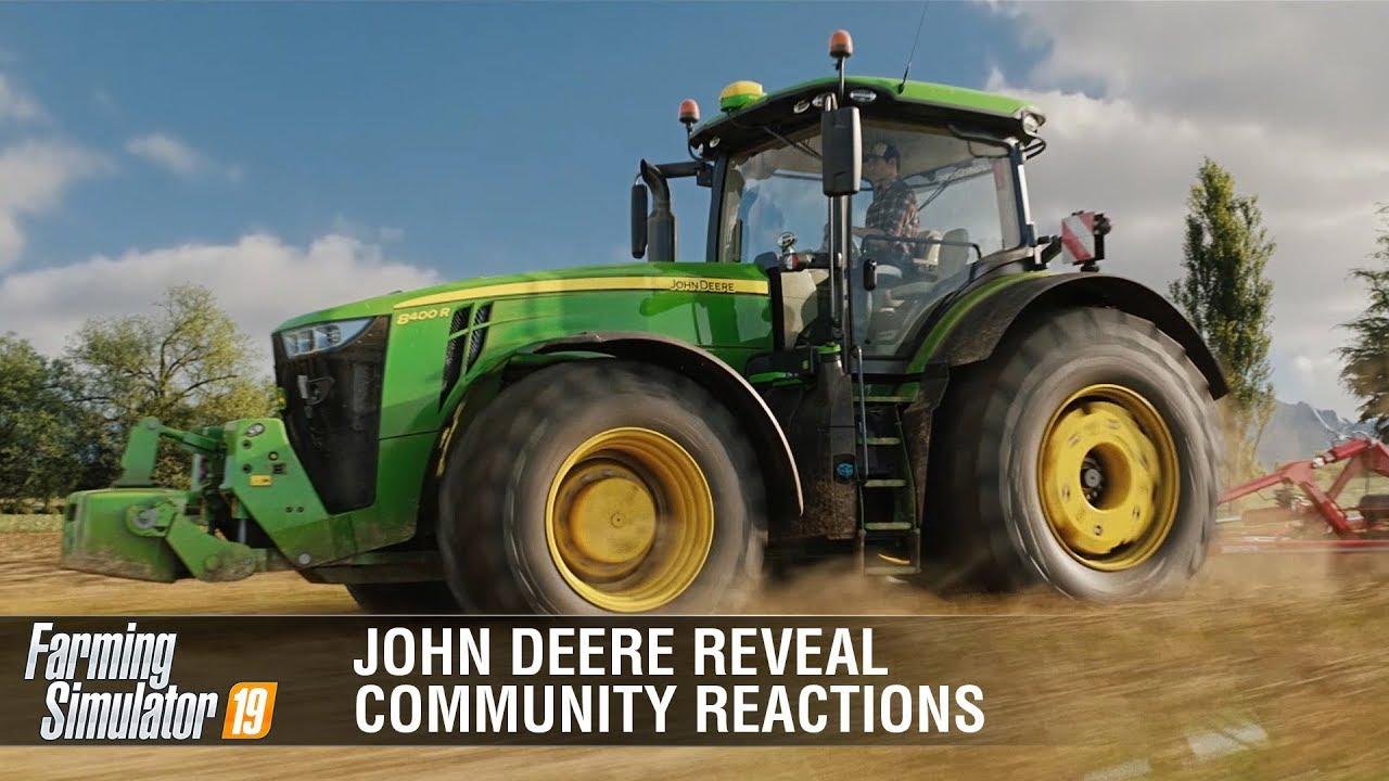 John Deere finally arrives to FS19 | Community Reactions