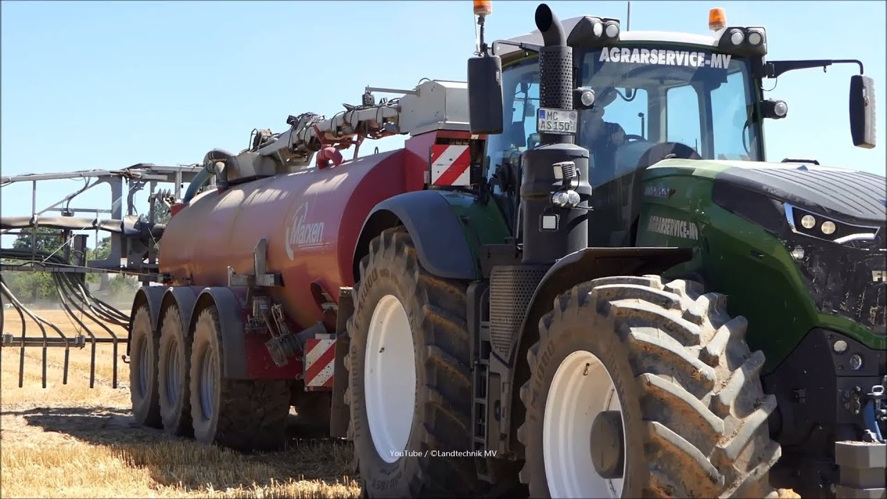 Fendt-John Deere-MB / Gülle - Liquid Slurry 2018 part 1/2