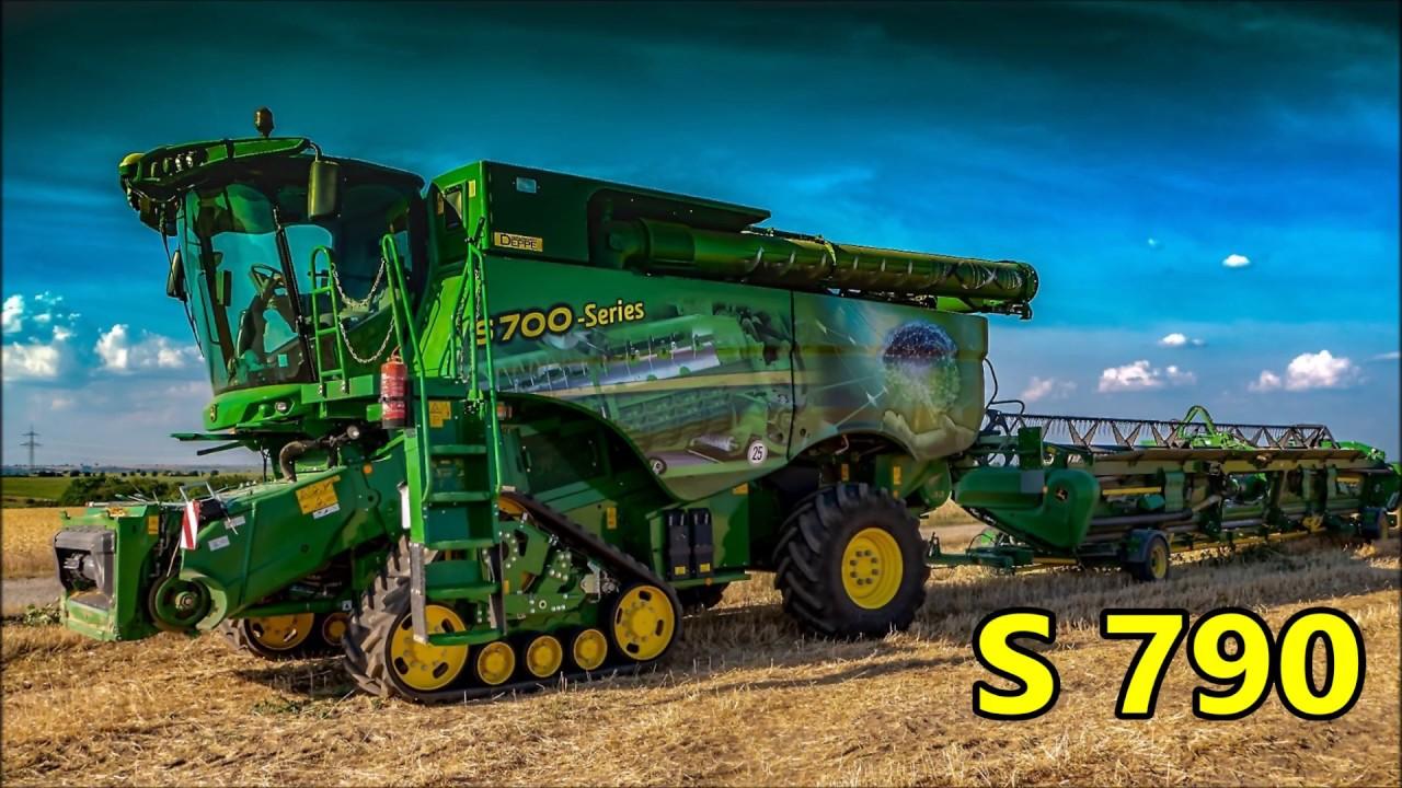 John Deere Mähdrescher:  S-790 große [Vorführmaschine]..!!!