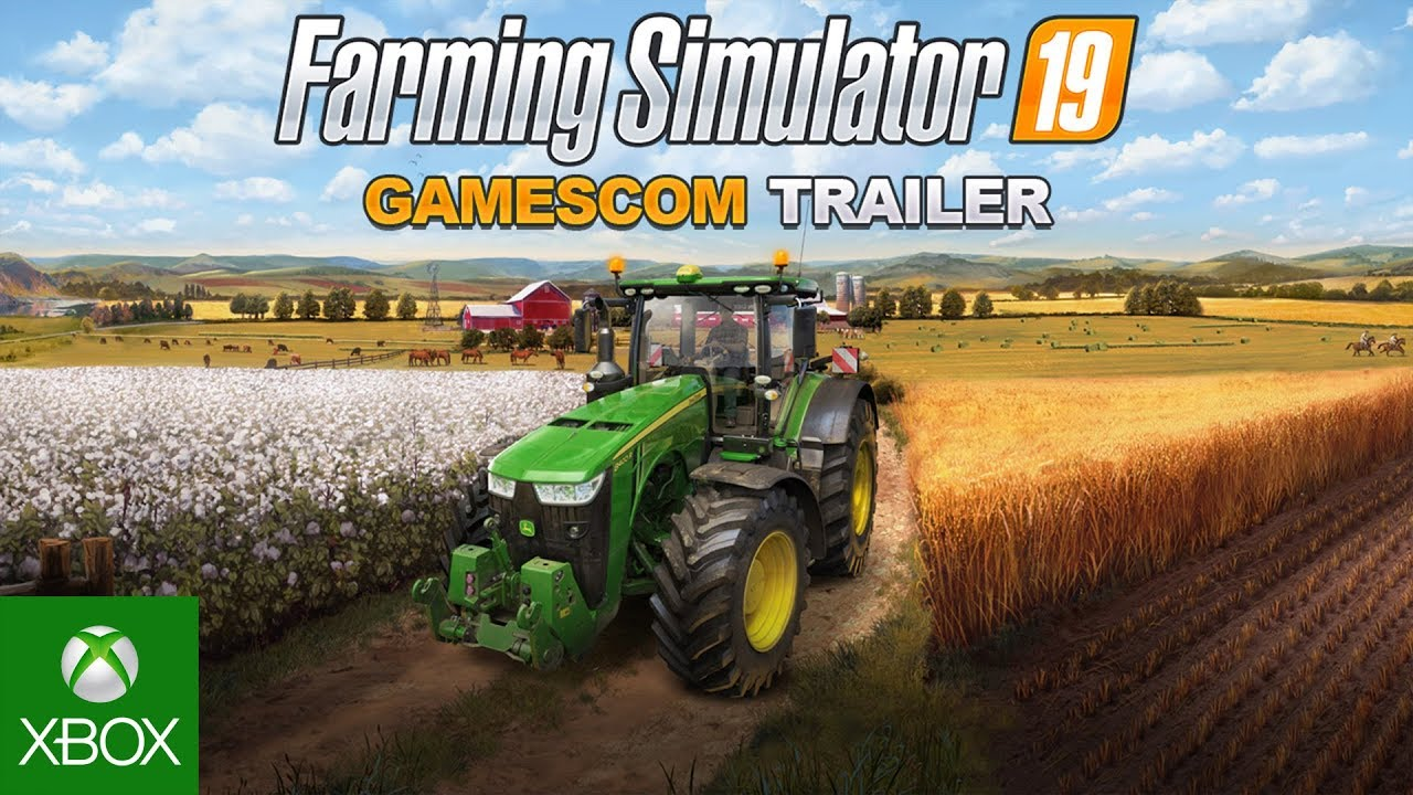 Farming Simulator 19 – gamescom Trailer