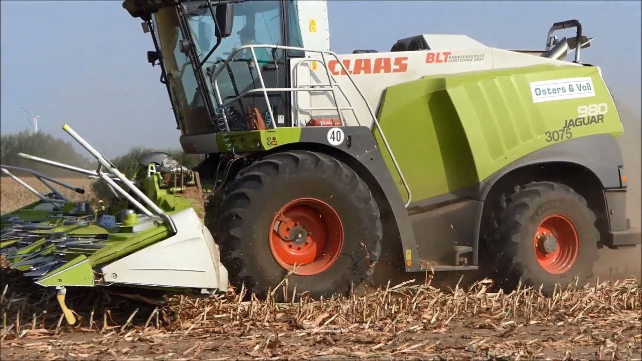 Claas-Fendt-MF /  Maissilage - Corn Silage 2018   1/3