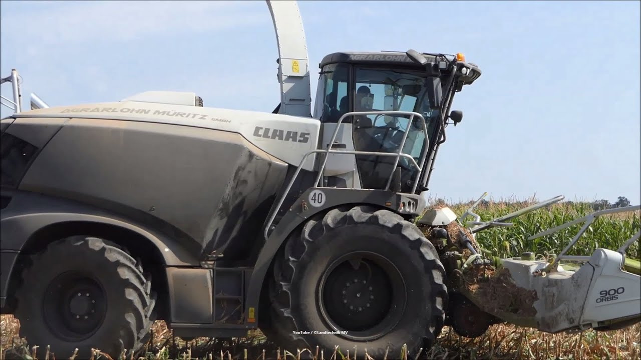 Claas-Fendt-JCB + /  Maissilage - Corn Silage 2018  1/2