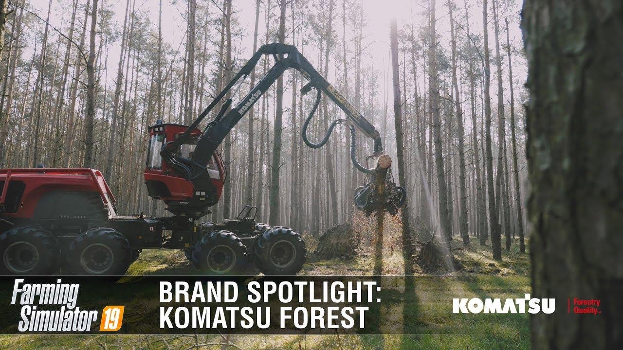 Farming Simulator 19 Brand Spotlight | Komatsu Forest