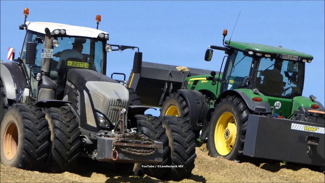 New Holland-Fendt-Claas + / Maissilage - Corn Silage 2018  2/2