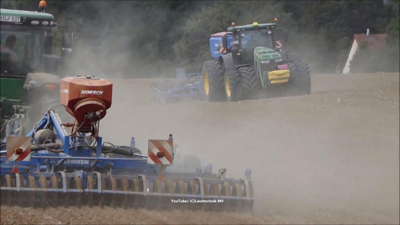 John Deere-Lemken / Aussaat - Seeding  2018
